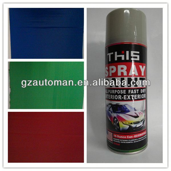 Clear Acrylic Lacquer Spray Paint, Multi-Colors Spray Paint, Car Paint Aerosol