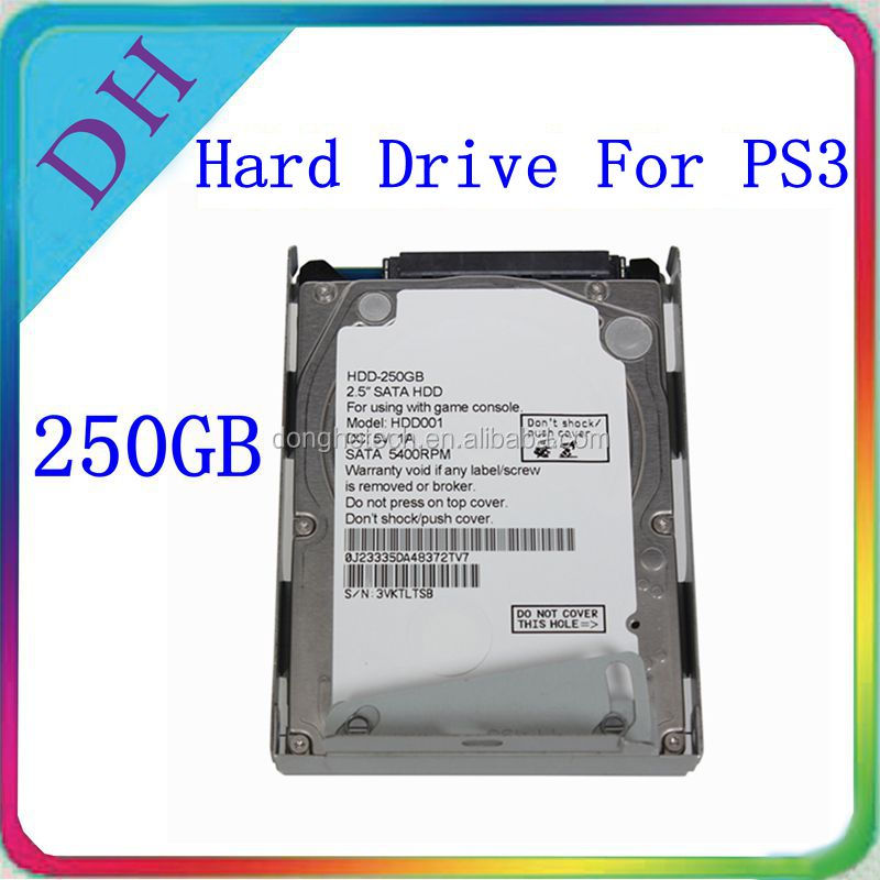 Get profits --- high quality video games accessories hard disk 250gb for PS3