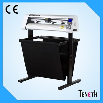 Teneth 24 inches servo motor wall sticker automatic contour 3M reflective film usb driver cutting plotter