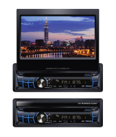 1 din 7 inch car DVD player with detachable Screen with GPS BLUETOOTH TV USB