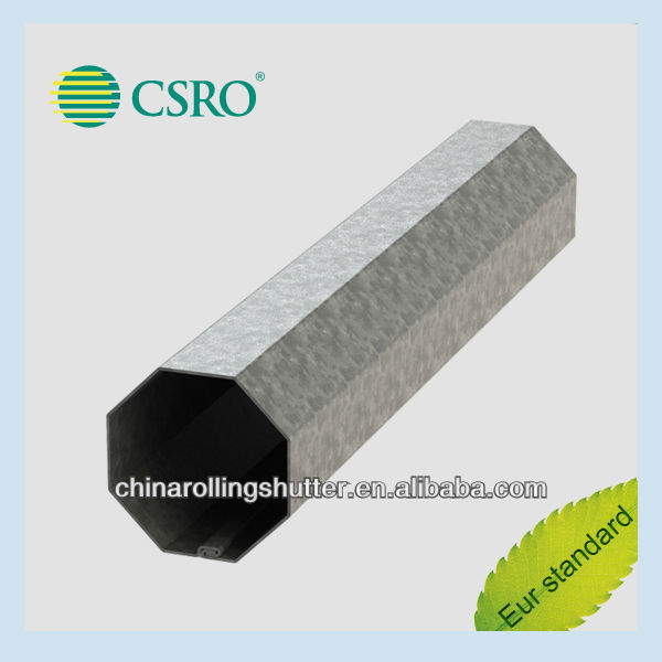 galvanized octagonal tube/aluminized steel tube/aluminum octagon tube