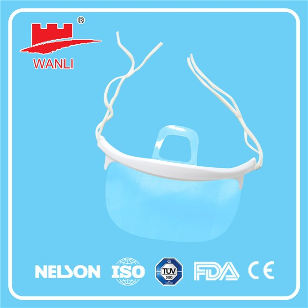 High quality clear plastic mask for food industry service face mask
