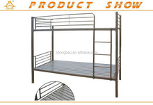 Hot sale Standard size two layer single metal bunk bed in US market
