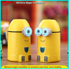 Portable minion humidifier / high end usb charge led color change yoga use air humidifier