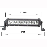 "YC029 60W 5400lm 12.7"" Offroad LED Light Bar for SUV UTV ATV Tractor"