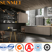 Customized Modern Design Food-grade 304 Stainless Steel Kitchen Cabinet Foshan
