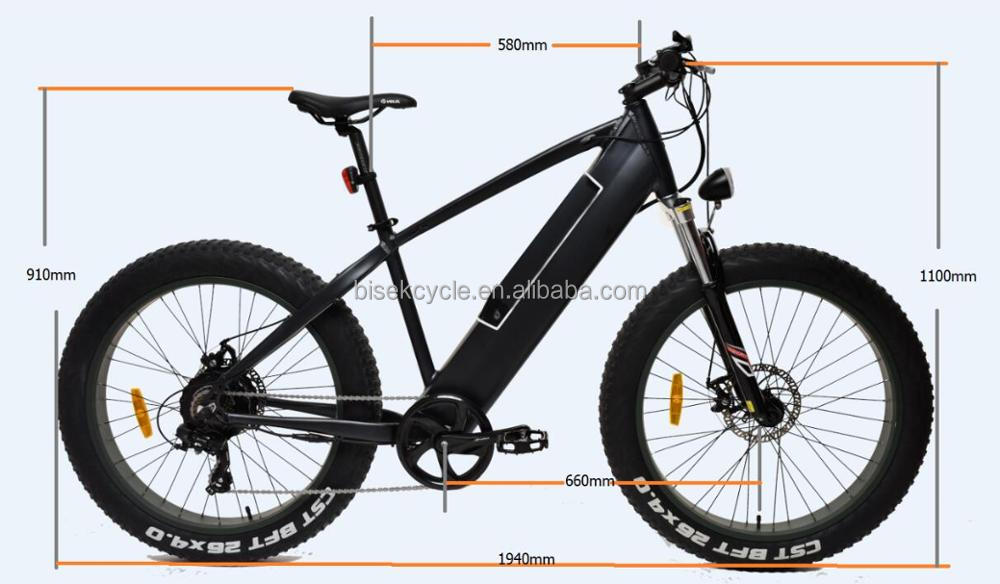 Fat tire 48v 500w full suspension enduro ebike motorized bicycle bmx bike