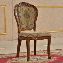 Classical Appearance and Wooden Material Antique Wood Chair Styles Pictures