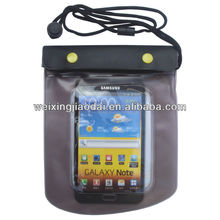 2013 Korean Waterproof cell phone bag wet wallet bag rain/uv protection bag summer sports beach dry neck pouch