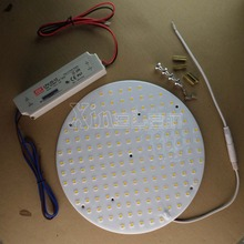 Project for round advertising box china led panel