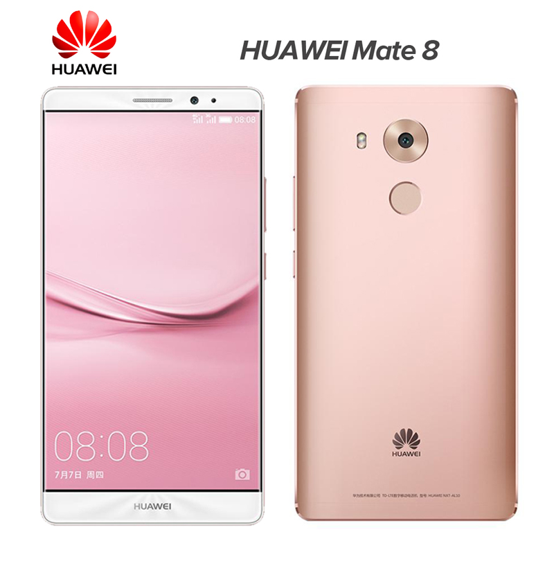 "Original Huawei Mate 8 128GB ROM Mobile Phone 4GB RAM 6.0"" Octa Core Kirin 950 1920*1080 Dual SIM"