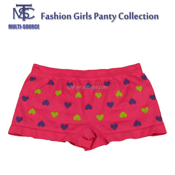 Wholesale Factory Price Sexy Seamless Ladies Panty, boxer Short.