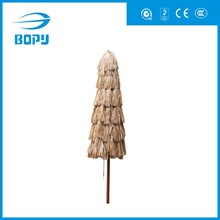 Thatched straw beach hawaii windproof umbrella