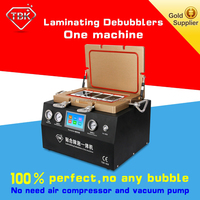 TBK New 12 Inch Vacuum OCA Laminating Machine Debubbler Integrated remove bubble machine+Cell Phone Screen Referbishing