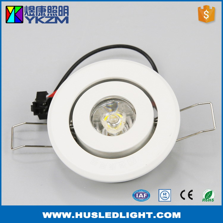 Cost price good quality 1w led spot lights
