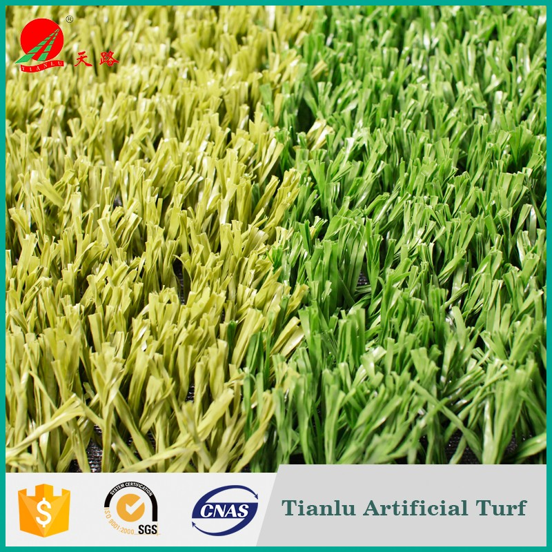 40-60mm Artificial Turf Landscape Synthetic Grass For Soccer/Football Flooring