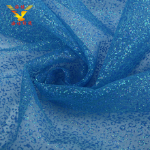 2017 New brand wholesale sequin sparkling soft tulle fabric
