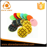 Diamond Polishing Pads 4 inch wet/dry Concrete Stone Grit 30-3000#