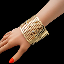 The newest design 2016 Dubai gold plated bangle fancy bangles design images