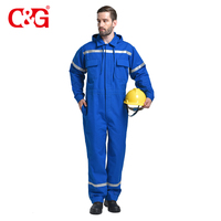 Anti Fire Clothing Flame Retardant Garment 100% Fire Retardant Coverall