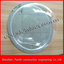 Customized size lagre clear acrylic dome acrylic dome