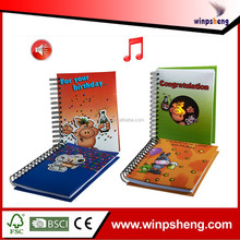 Custom Music Notebook / Spiral Notebook With Colored Paper