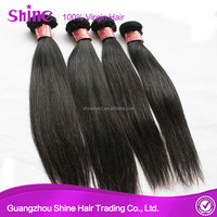 8A grade 100% unprocessed indian straight virgin beauty elements hair