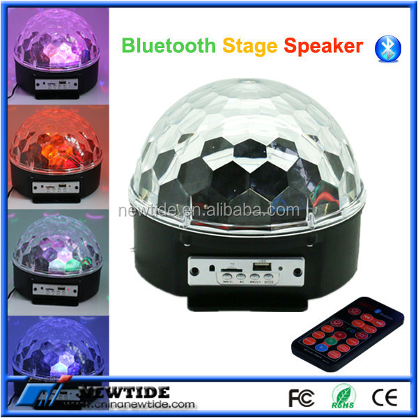USB/TF Crystial Magic Ball Stage multimedia speaker (NT-BP0081)