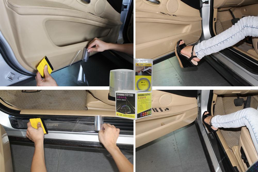 Carlas filme plástico de embalagem Transparente, filme de proteção da pintura do carro com plástico bolha