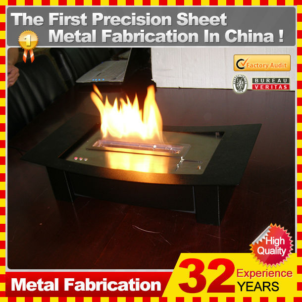 A direct manufacturer supply the bio ethanol fireplace with 32 years experience
