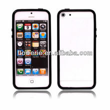 FL2359 2013 Guangzhou hot selling flexible transparent bumper gel cover case for iphone 5 5G