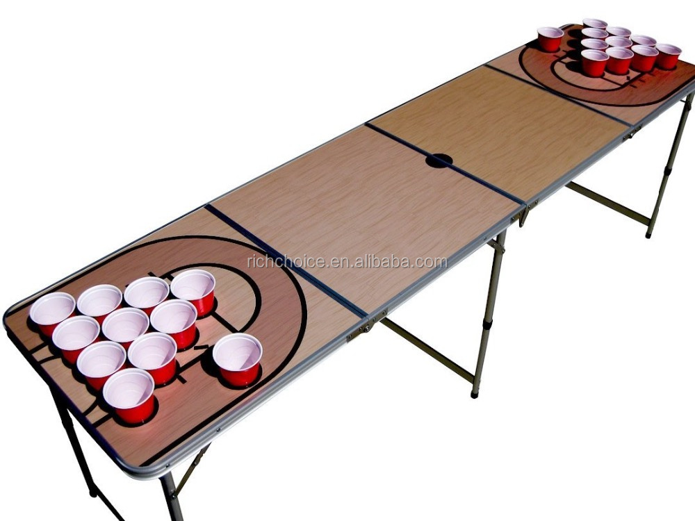 2016 Most popular beer pong table with cup holders