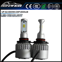 new design CSP 8000lm 3 sides S2 led auto headlight H10/H11/H16(5202)/9005/9006/H13/9007 led headlight conversion kit