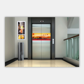 wall hanging HD LCD advertising display machine with solution