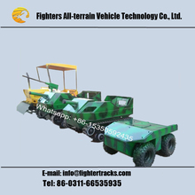 Mini tracked offroad tank vehicle for kids
