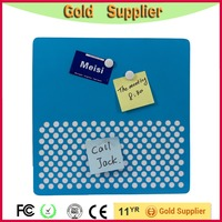Office&school blue stamp sheet dry erase magnetic board/peg board