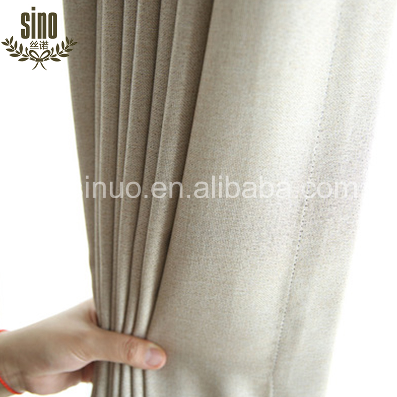 Ready Made Simple Design Cheap blackout lining eyelet curtains