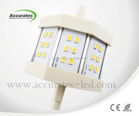 alibaba china suppliers 5w r7s 78mm dimmable led