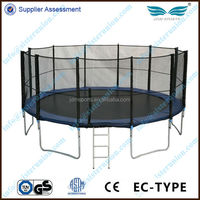 Useful fitness high quality 6FT-16FT new exercise large trampolines with foam pit