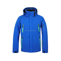 2016 Mens Waterproof Insulated Snowboard Jacket Blue