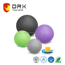 Custom Anti-Burst Fitness Exercise Stability Gym Ball Yoga Ball with Pump