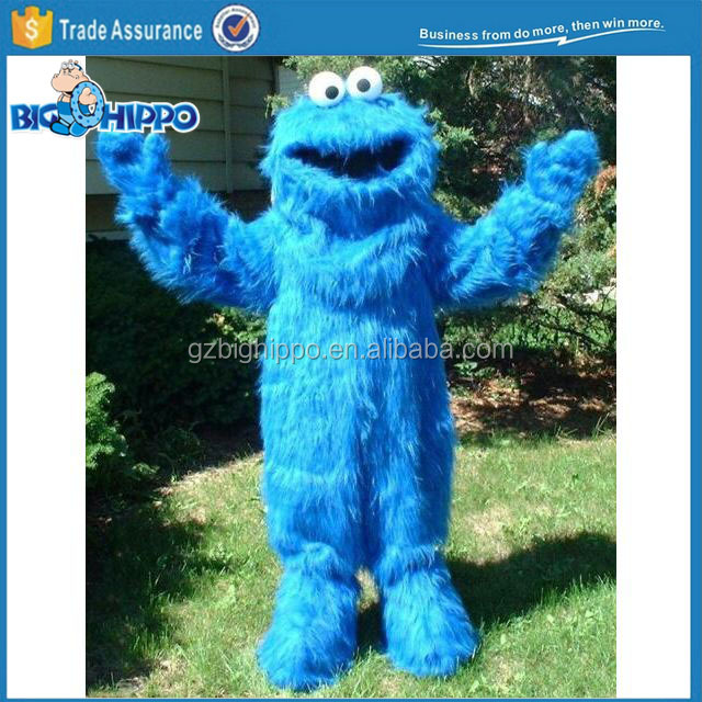Sesame Street Cookie Monster Mascot Costume