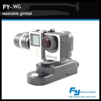feiyutech new product WG 3 axis wearable gimbal for gopro3, gopro 3+ and gopro 4