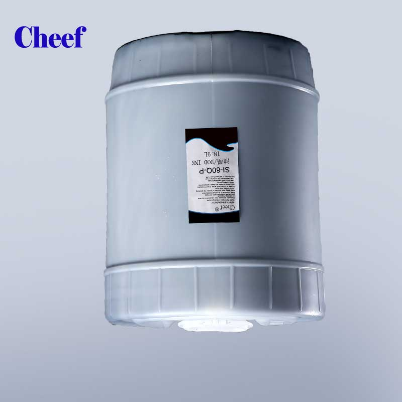 5 gallon Ketone Large character DOD ink SI-60Q-P 18.9L for inkjet printer