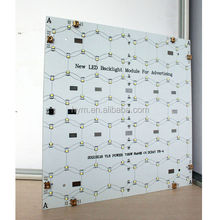 low voltage operated unique led lighting pcb double-sided circuit fir sign illumination