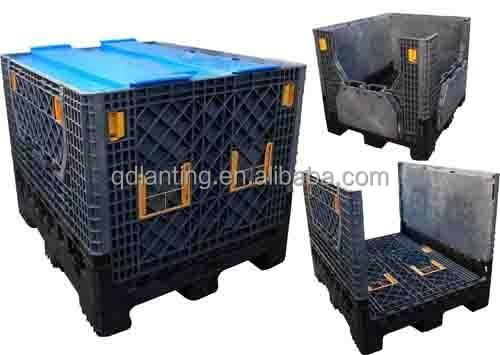 Vegetables Folding Box Pallet Plastic Crate