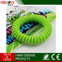 Unique coil design not contaminated clothing eco-friendly baby mosquito repellent bracelet