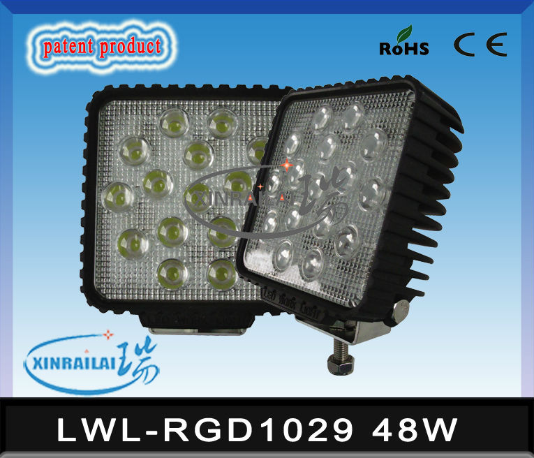 bmw auto accessories, 48w auto led work light waterproof ip68 RGD1029 bmw auto accessories