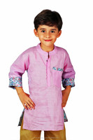 Smart and Fancy Look Partywear Linen Cotton Kurta