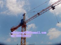 tower crane manufacture made types of tower crane QTZ80A(6011) 6t building tower crane for sale